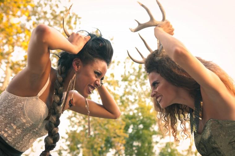 Knoxville Fashion Week - Deer Antlers