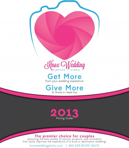Knox Wedding Photo + Video 2013 Pricing Guide Cover
