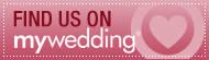 MyWedding Badge - Find us on MyWedding